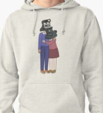 Camera Couple Pullover Hoodie