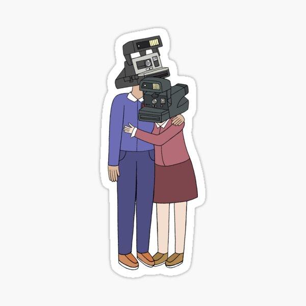 Camera Couple Sticker