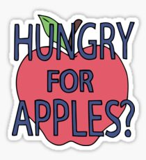 Hungry for Apples? Sticker