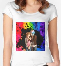 Max & Chloe (Pricefield) Women's Fitted Scoop T-Shirt