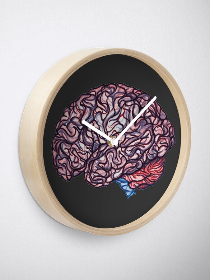 Vista alternativa de Reloj Brain Storming - Rosa