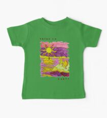 SUNSET OCEAN SEASCAPE - SHINE ON BABY! Baby Tee