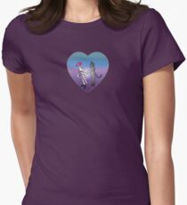 """""""Tug of Love"""" Women's Fitted T-Shirt"""