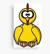 Cartoon Chick Canvas Print