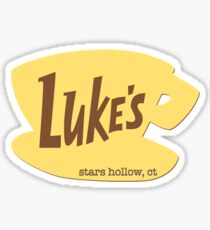 luke's cup  Sticker