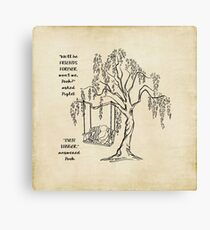 Winnie the Pooh - Friends Forever Canvas Print