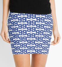 Est. 99 blue Mini Skirt