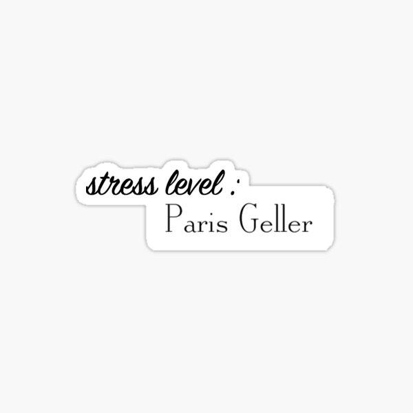 stress level Sticker