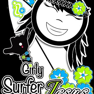Girly Surfer Jesus by chelo19