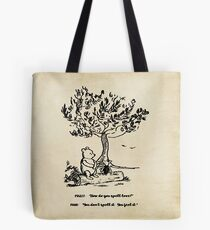Winnie the Pooh - How do you spell love? Tote Bag