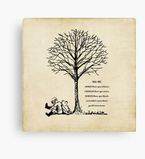 Winnie the Pooh - You are Braver Canvas Print