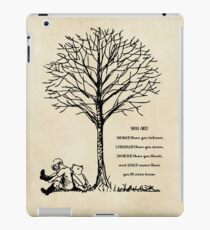Winnie the Pooh - You are Braver iPad Case/Skin