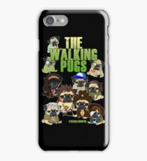 THE WALKING PUGS II iPhone Case/Skin