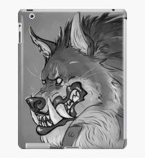 Werewolf Portrait iPad Case/Skin