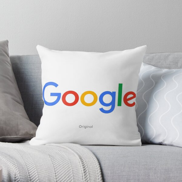 Google Throw Pillow