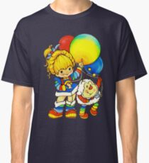 """Vintage """"Up, Up & Away"""" Rainbow Brite, Sprite, Twink, White, Colorful, Bright, Retro, Yellow, Gold, Mustard, 80's, Cartoon, Babies, Throwback, Pop Culture, My Childhood   Classic T-Shirt"""