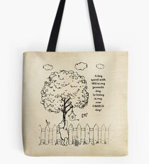 Winnie the Pooh - A Day Spent with You Tote Bag