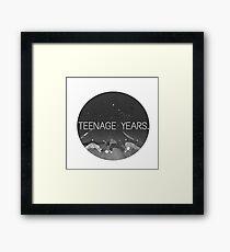Teenage Framed Print