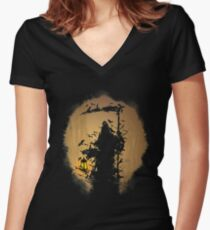 After Life Women's Fitted V-Neck T-Shirt