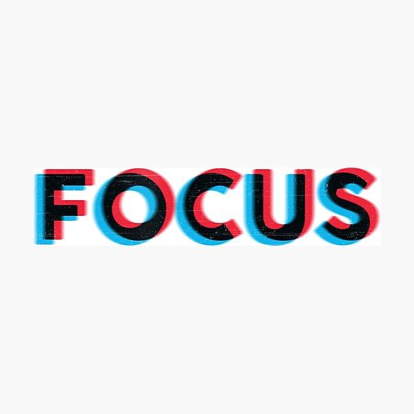 Focus! Photographic Print