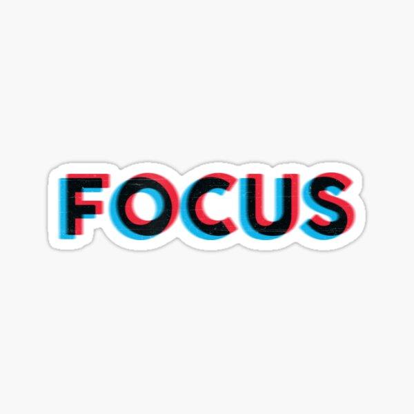 Focus! Sticker