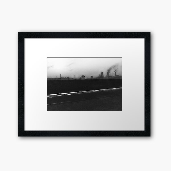 Industry, Teesside. Framed Art Print