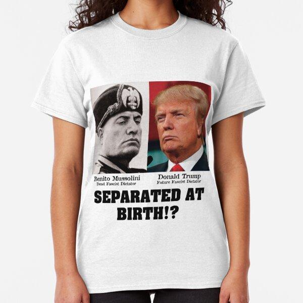 Homme Col V attaquer 45 Shirt Président américain politique tee anti Donald Trump