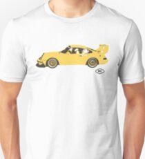 Porsche 911 Turbo Race Car by Robert Charles Designs T-Shirt
