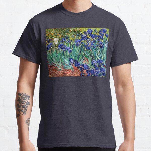 Irises by Vincent van Gogh Classic T-Shirt
