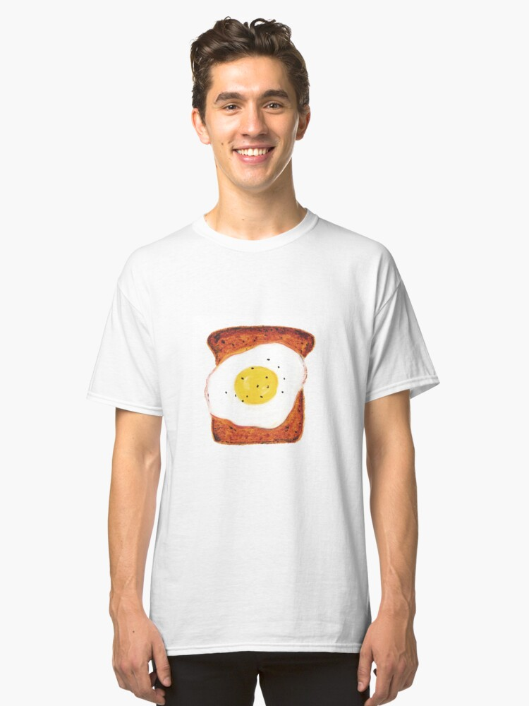 Egg on Toast Classic T-Shirt Front