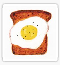 Egg on Toast Sticker