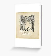 Winnie the Pooh - If you live to be 100 Greeting Card