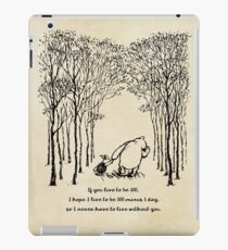Winnie the Pooh - If you live to be 100 iPad Case/Skin