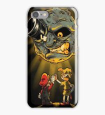 Mario & Link trip to the moon iPhone Case/Skin