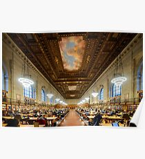 NYPL - New York Public Library  Poster