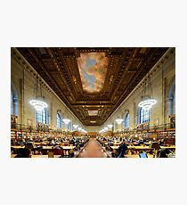 NYPL - New York Public Library  Photographic Print