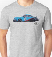 No.9 - Porsche 964 Race Car by Robert Charles Designs T-Shirt