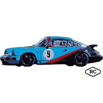 No.9 - Porsche 964 Race Car by Robert Charles Designs by robertcharlesde
