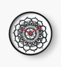 Abstrakte Kreiskunst Uhr