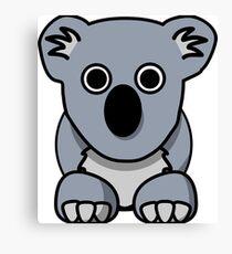 Cartoon koala Canvas Print