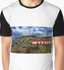American Hollywood sign Graphic T-Shirt