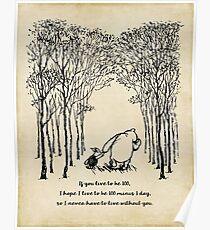 Winnie the Pooh - Wenn du 100 bist Poster