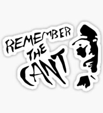 Remember The Cant (The Expanse) #2 Sticker