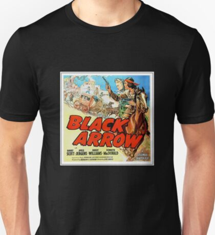 Black Arrow Movie Poster (1944) T-Shirt
