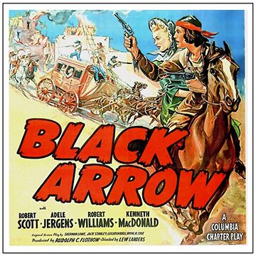 Black Arrow Movie Poster (1944) by 45thAveArtCo