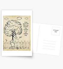 Winnie the Pooh - Today is my new favorite day Postcards