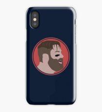 JE11 Vector Protrait iPhone Case/Skin