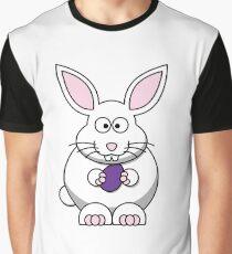Cartoon Bunny Graphic T-Shirt