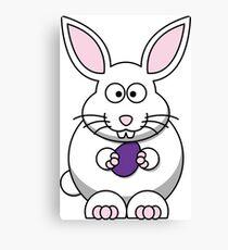 Cartoon Bunny Canvas Print