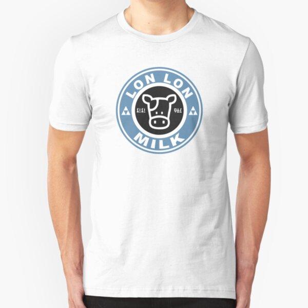 Lon Lon Milk Stamp Slim Fit T-Shirt